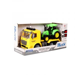 Sleeping Beauty Traders - City Fire Truck With Tractor