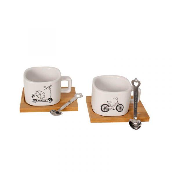 Sleeping Beauty Traders - Mug & Spoon Set