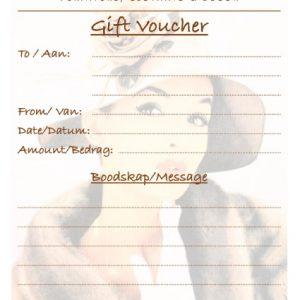 Sleeping Beauty Traders Gift Voucher